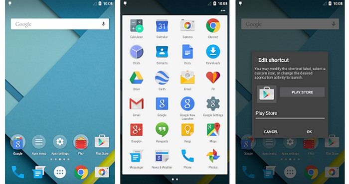 Download Apex Launcher for Free