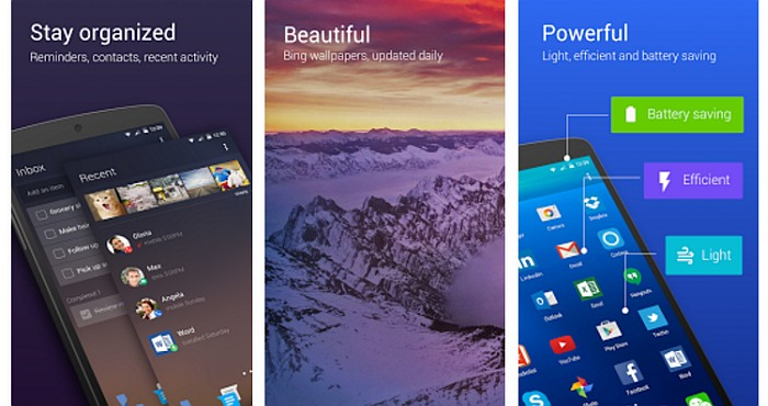 Download Microsoft Arrow Launcher and customize your Phone