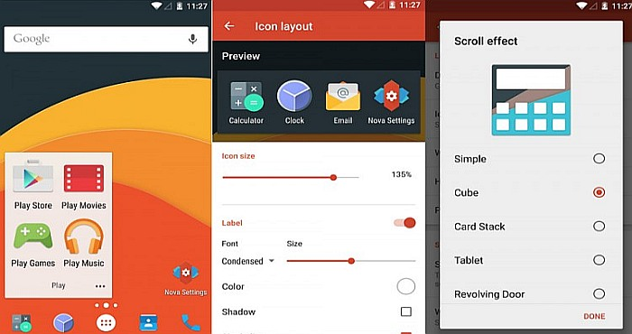 Nova Launcher 5.0 is now available for Free Download